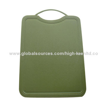 Plastic Cutting Boards, Easy to Clean, Customized Designs, Shapes and Logos are Accepted